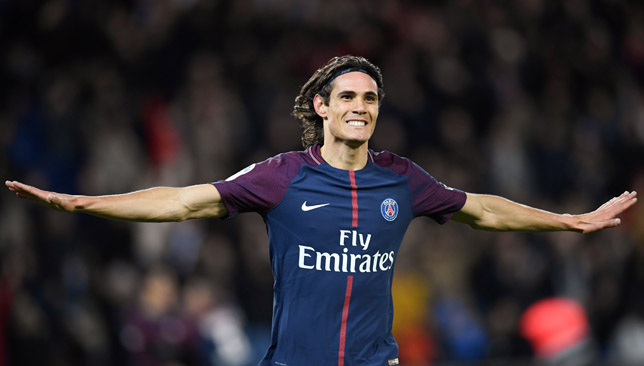 Key man: Edinson Cavani