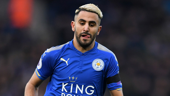 Mahrez back at Leicester training