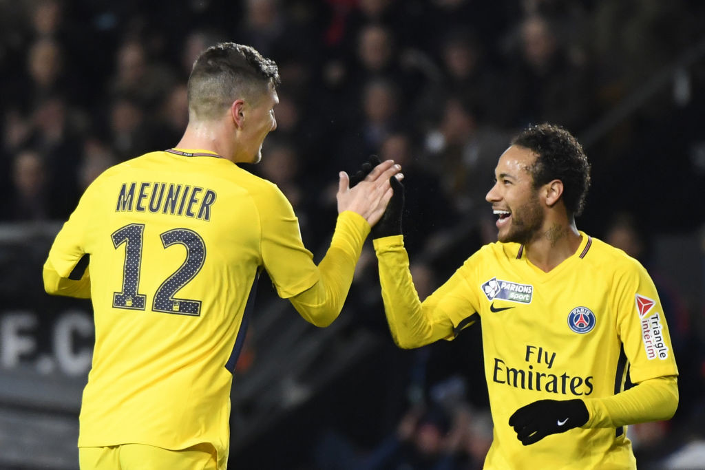 Neymar scored a brace in PSG's win over Montpellier.