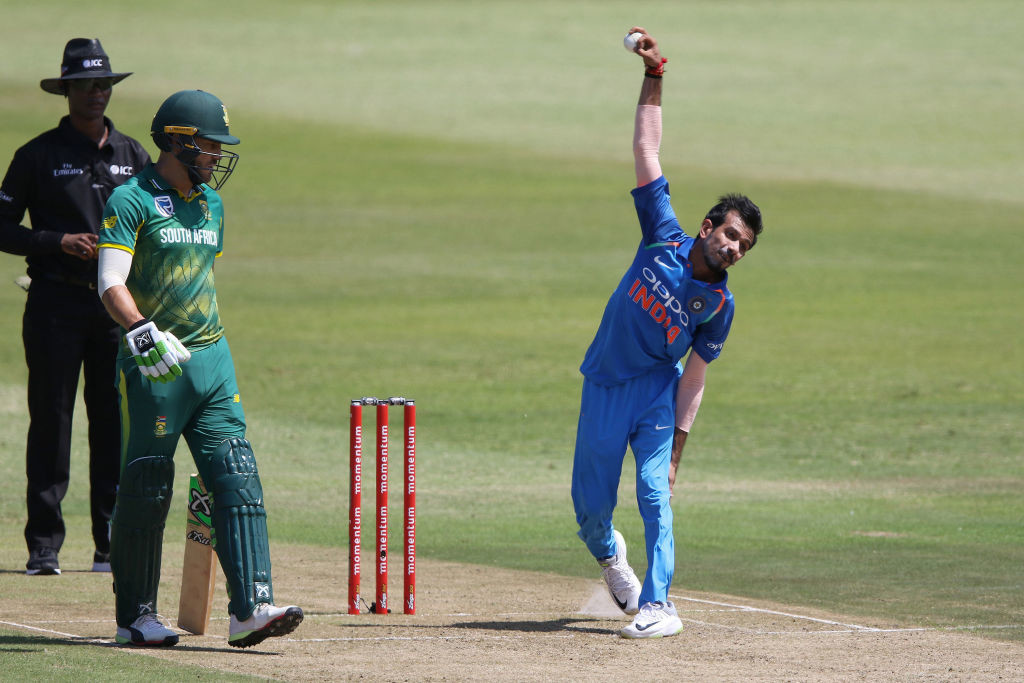 Chahal and Kuldeep rocked South Africa's middle-order.