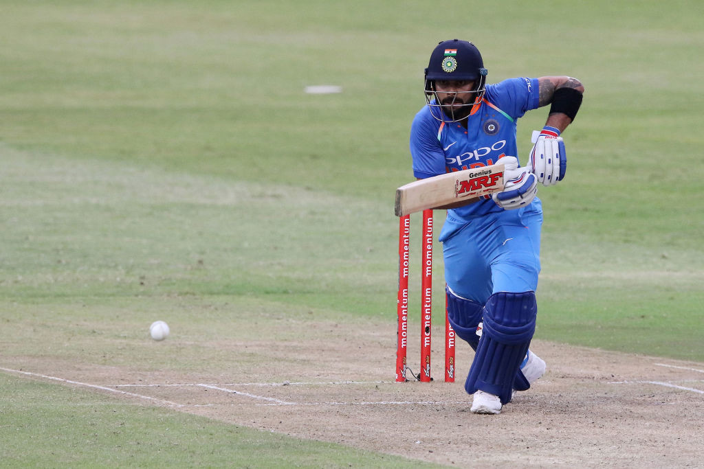 India have the best ODI batsman going around in Virat Kohli himself.