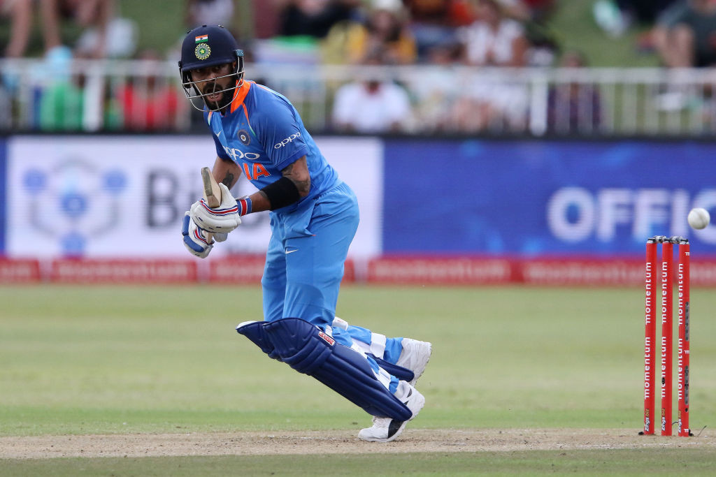Kohli notched up his 33rd ODI ton.