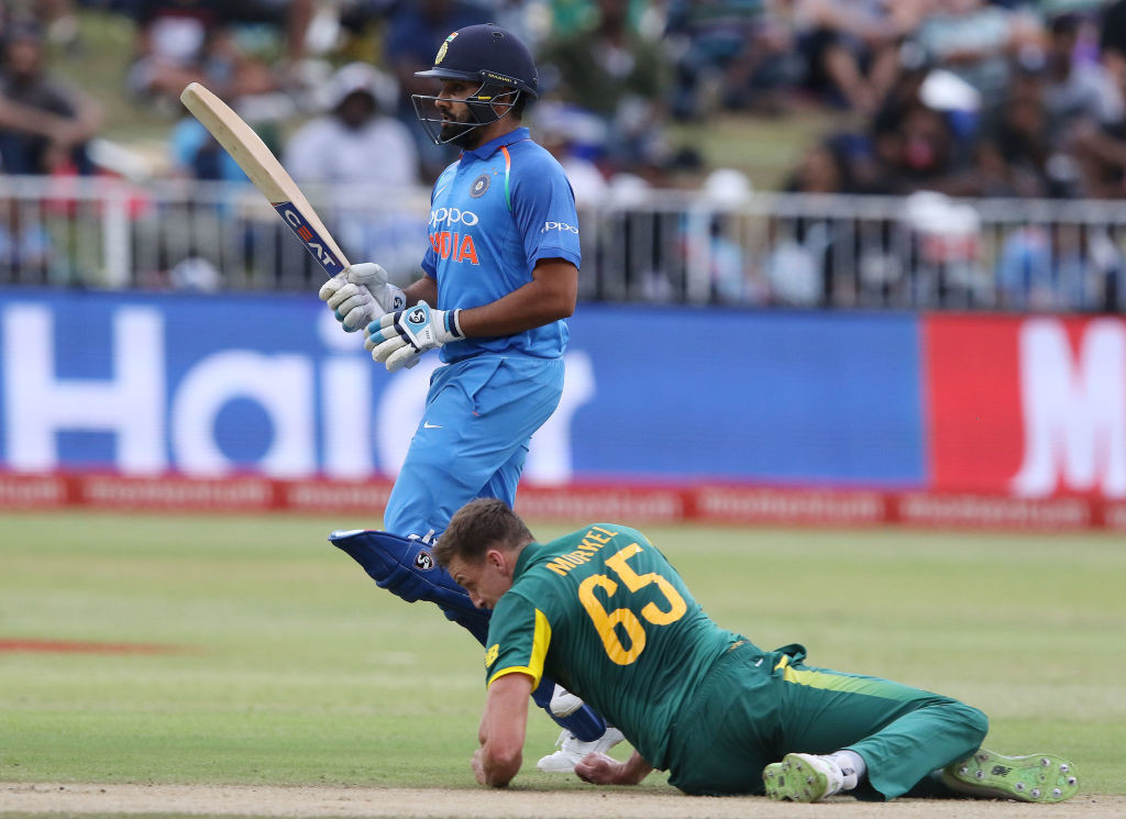 South Africa were beaten at home after a long wait.