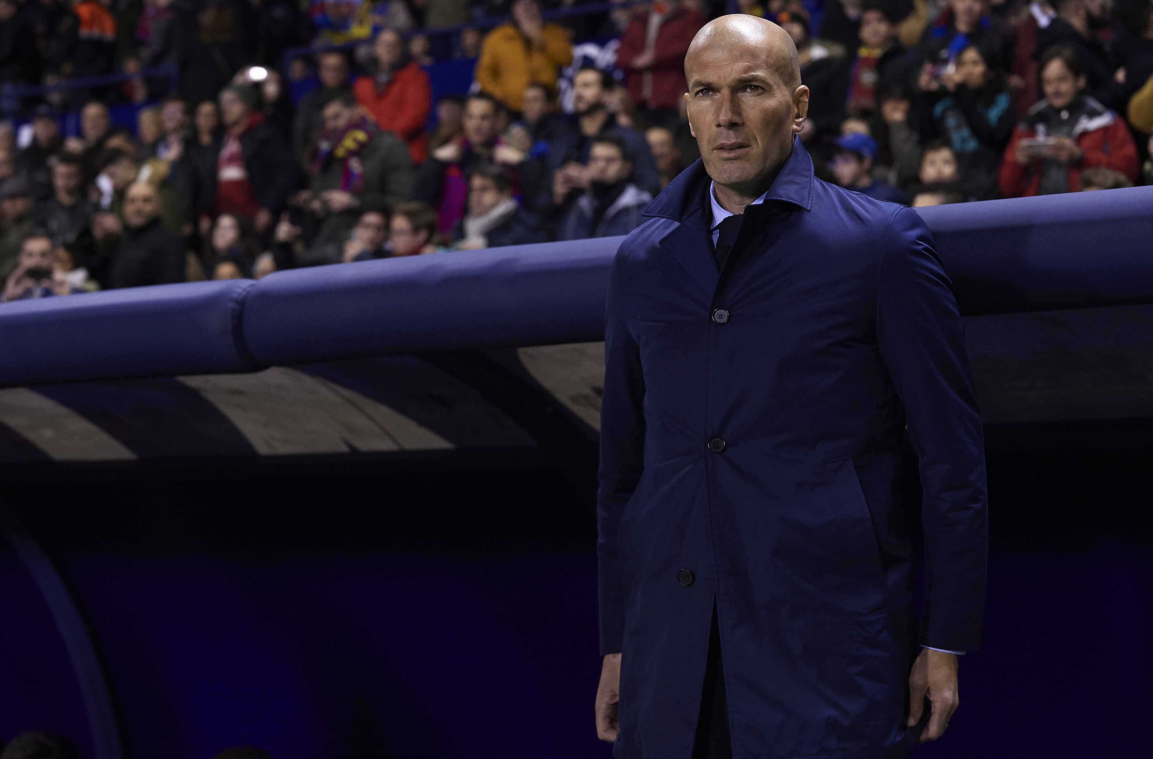 Real Madrid boss Zinedine Zidane did not get any winter reinforcements.