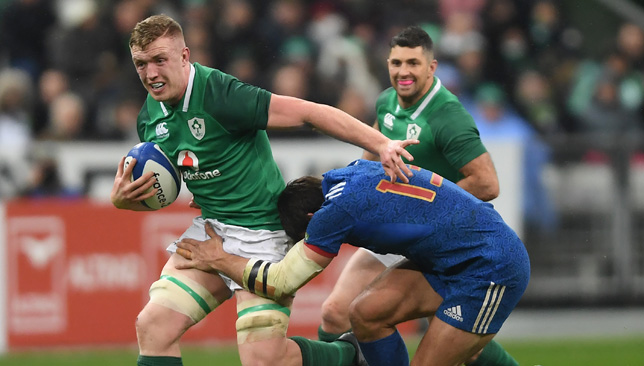 Ireland's Robbie Henshaw ruled out for rest of Six Nations