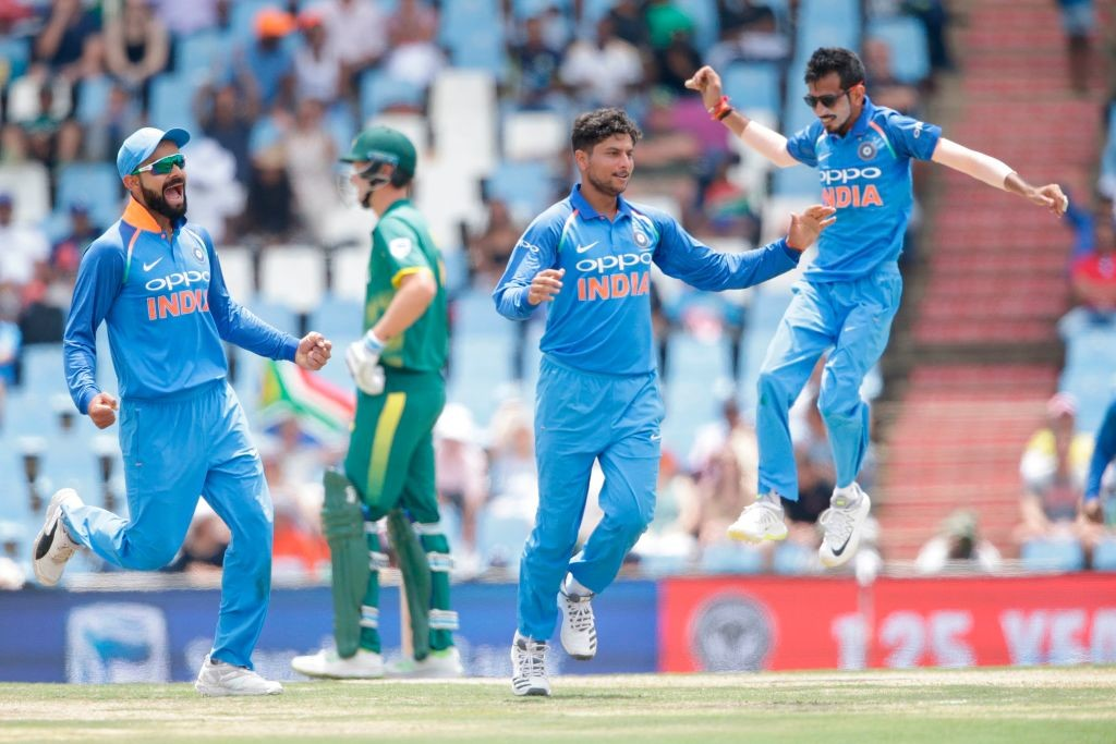 Kuldeep and Chahal are going from strength to strength.