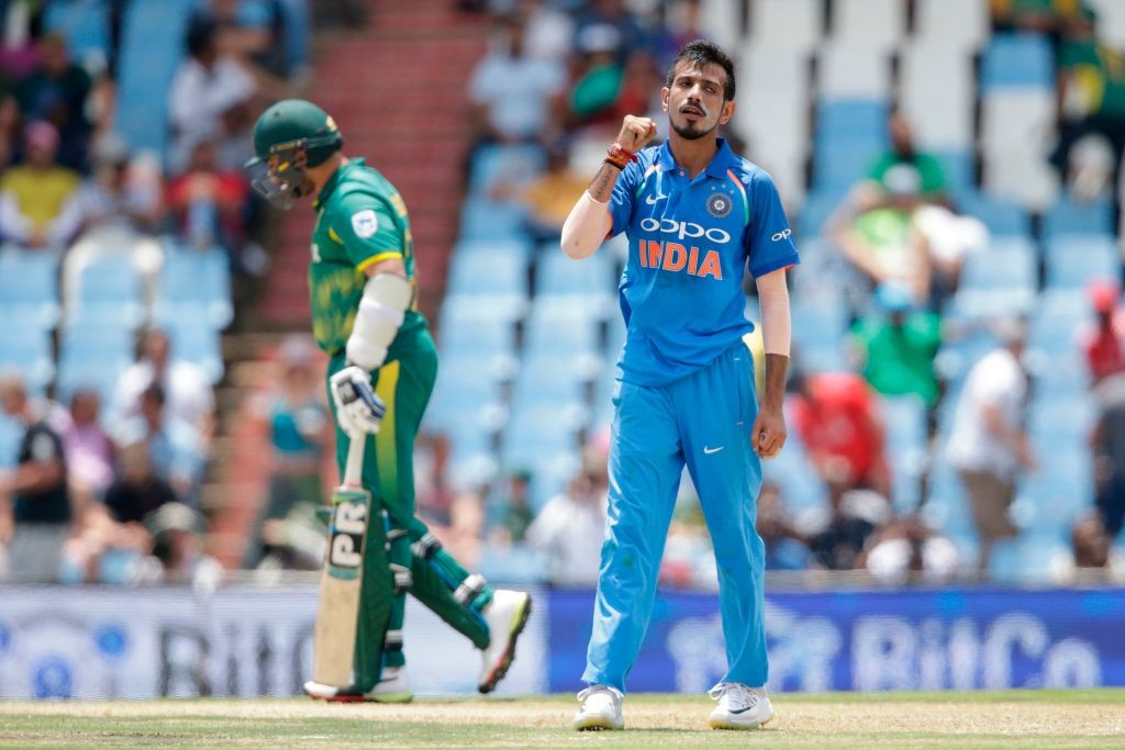 Chahal picked up his maiden five-wicket haul in ODI cricket.