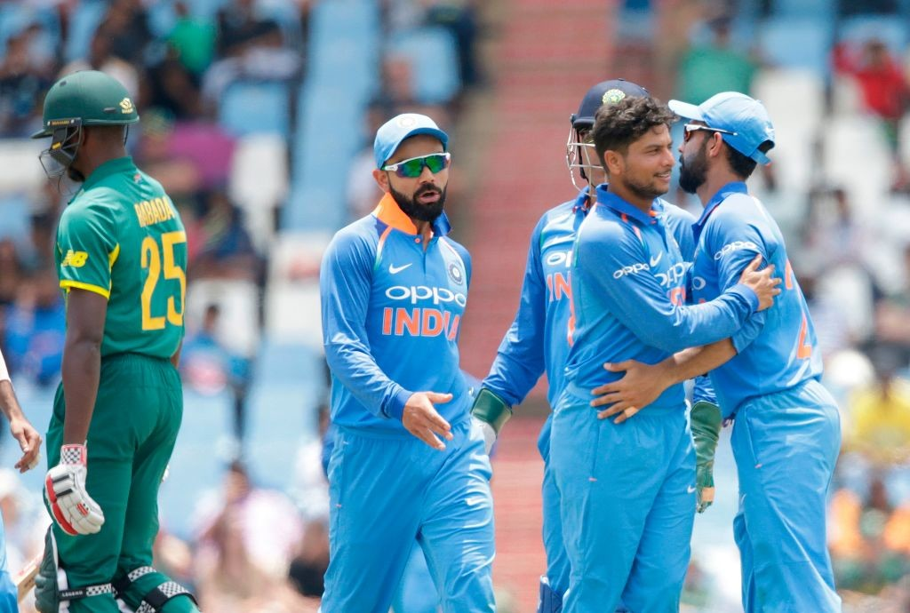 Kuldeep and Chahal proved too hot to handle once again.