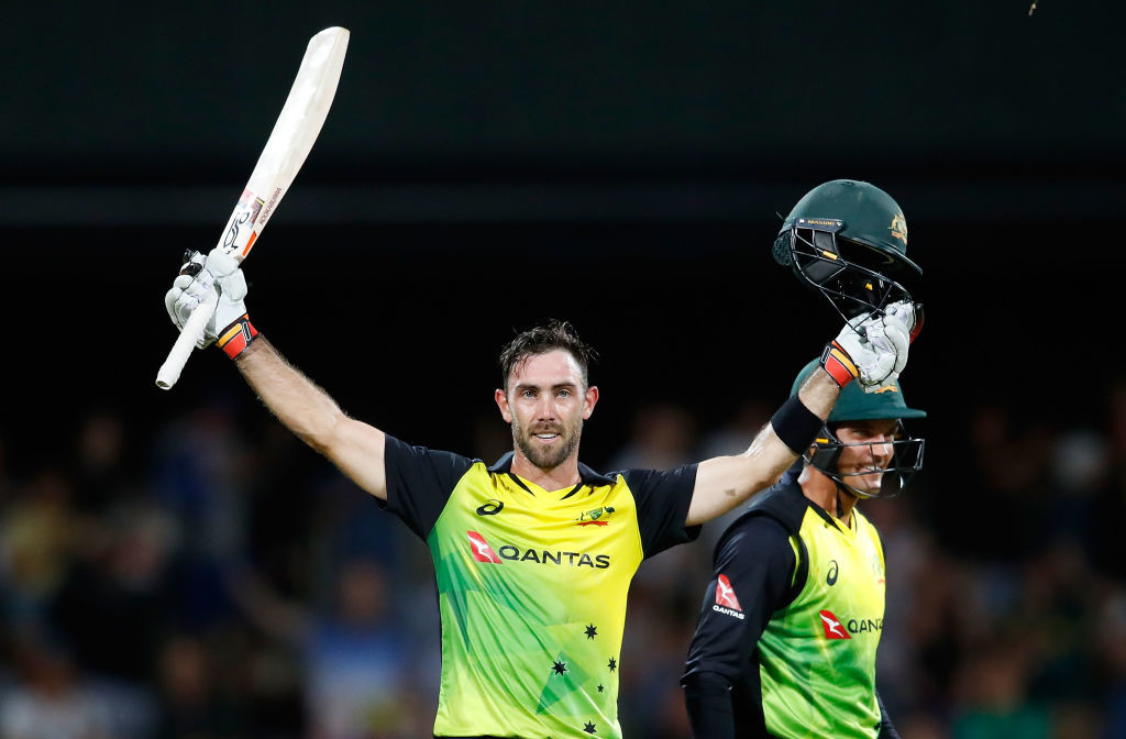 Maxwell put England to the sword in Hobart.