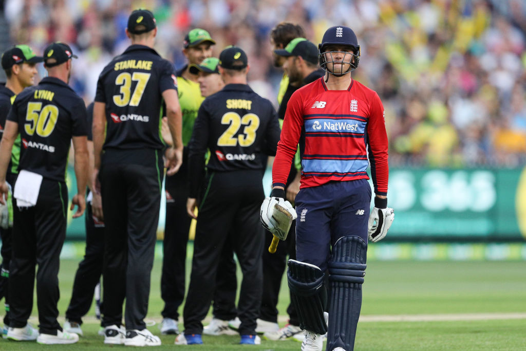 The hosts have now made it three in three against England at the MCG.