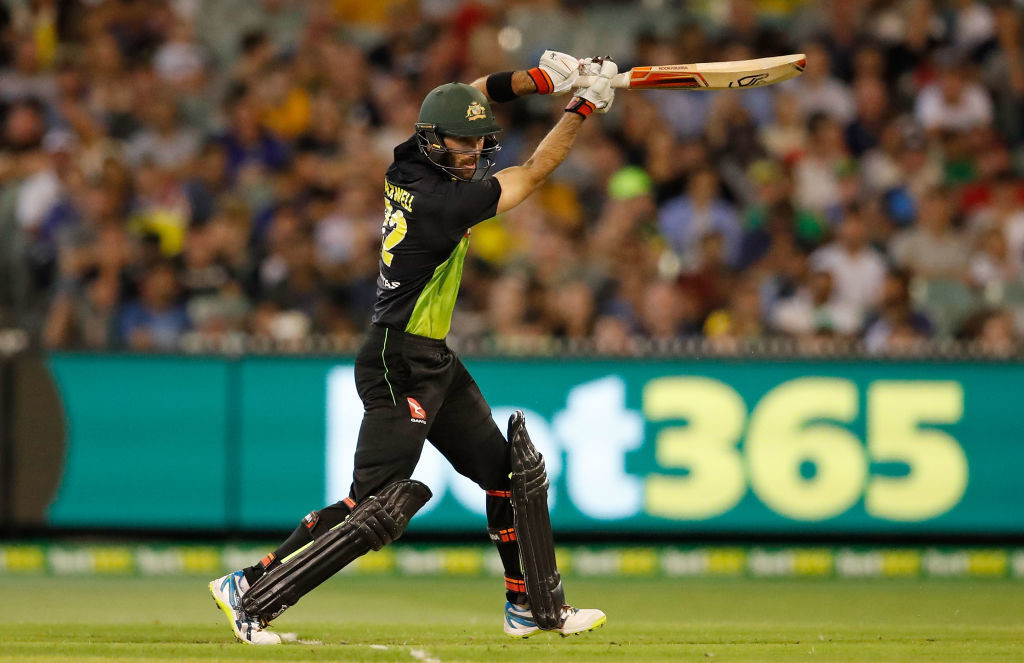 Maxwell is now the fourth highest run-getter for Australia in T20Is.