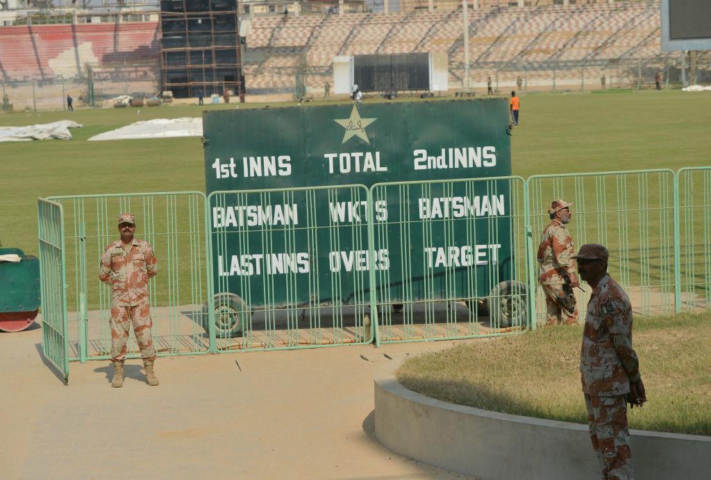 Karachi last hosted an international match on February 2009.