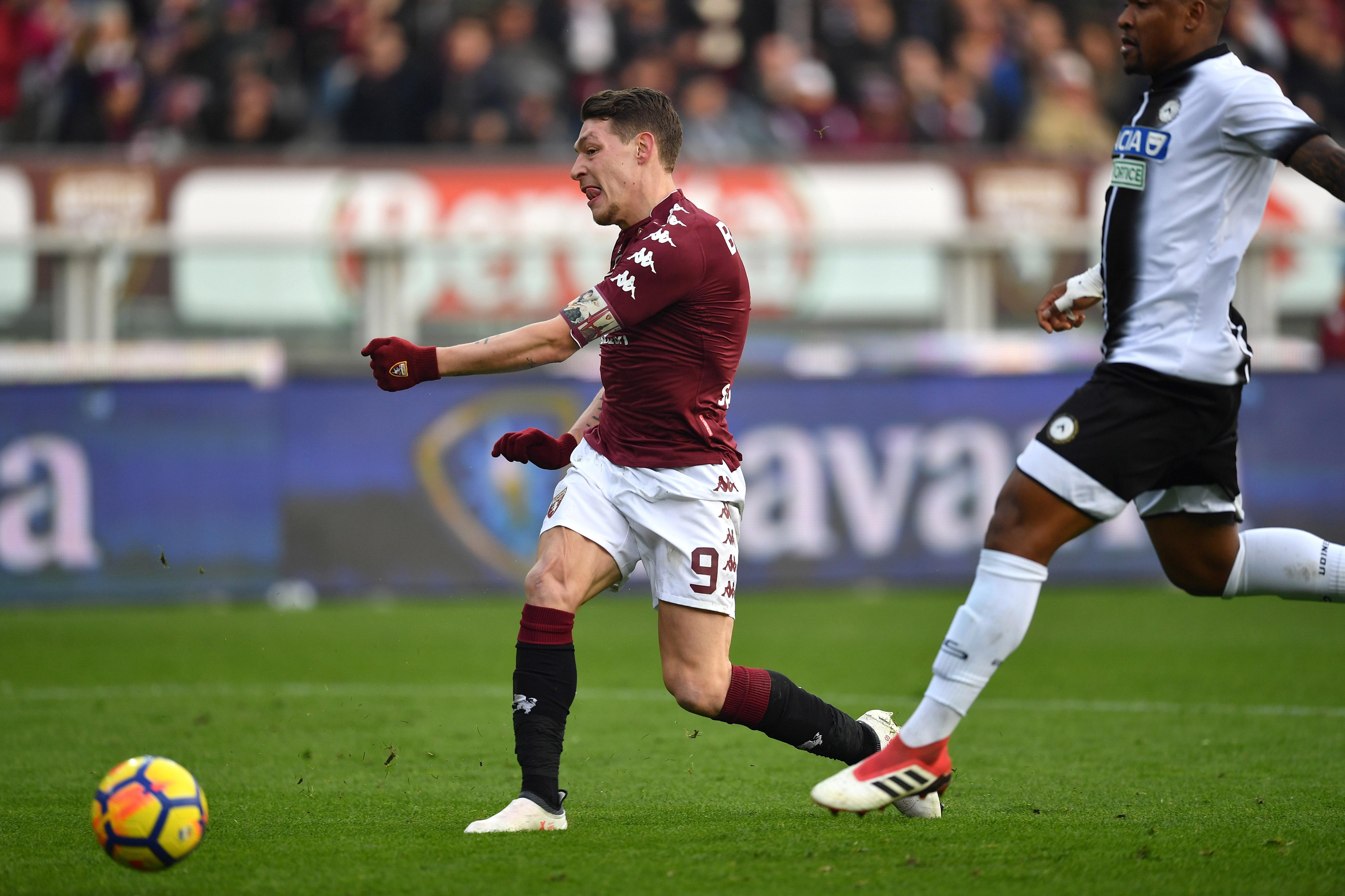 Andrea Belotti (c) has been back among the goals for Torino.
