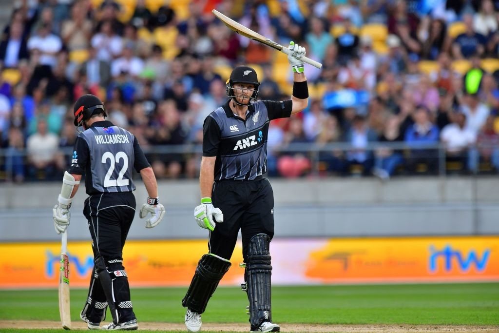 Guptill's and Williamson's fifties set the tone for New Zealand.