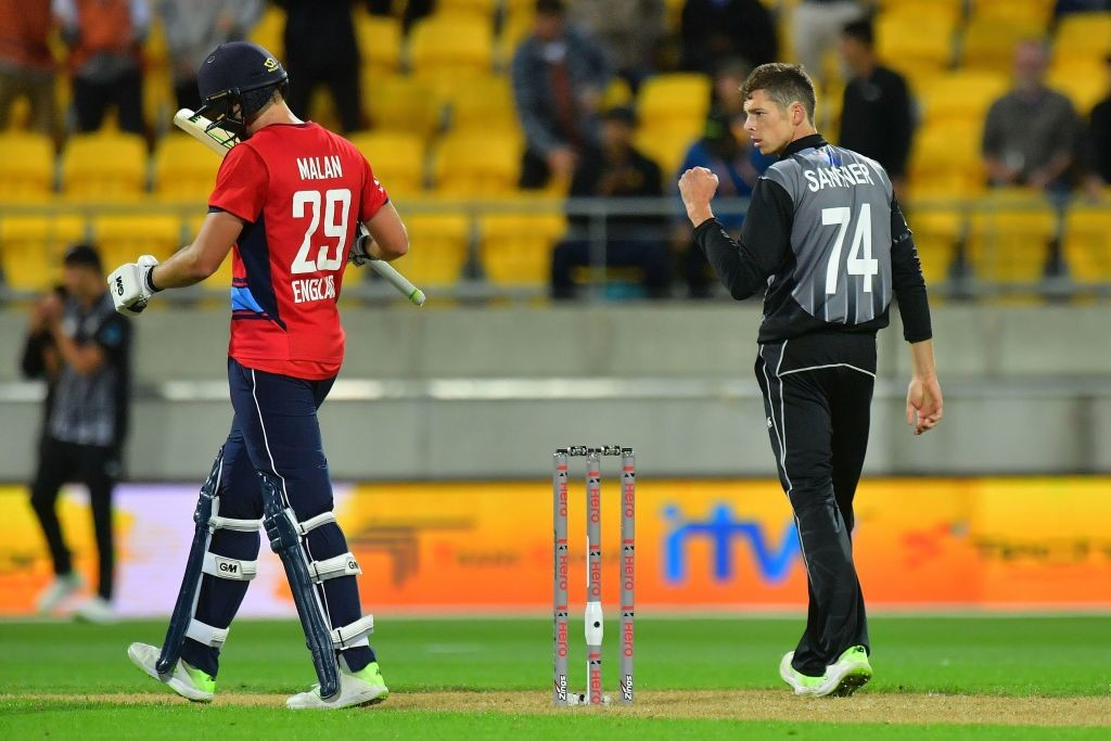 Santner's economical spell was vital for New Zealand's win.