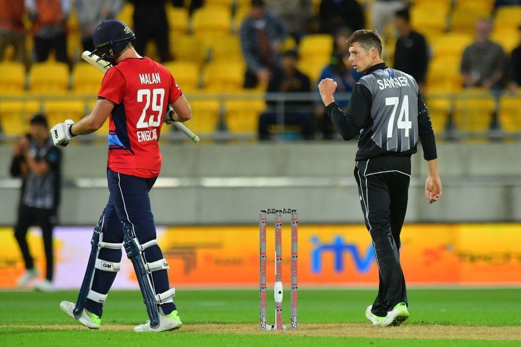 Santner's economical spell was vital for New Zealand's win.