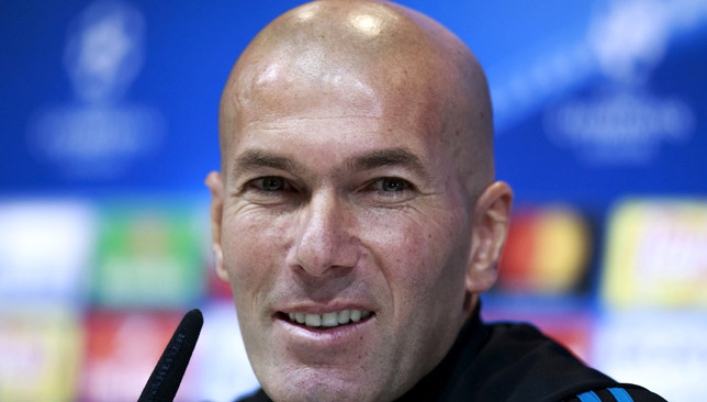 Man in charge: Zinedine Zidane