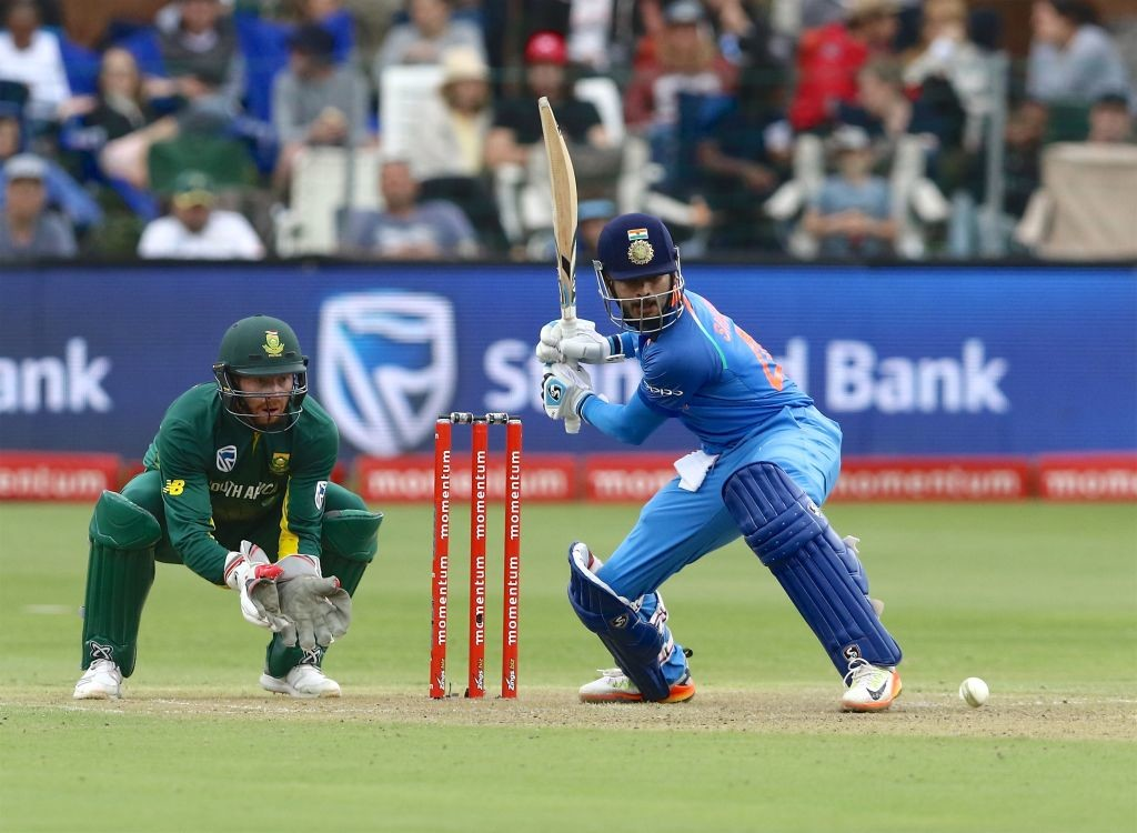 Iyer failed to make the most of his chances.