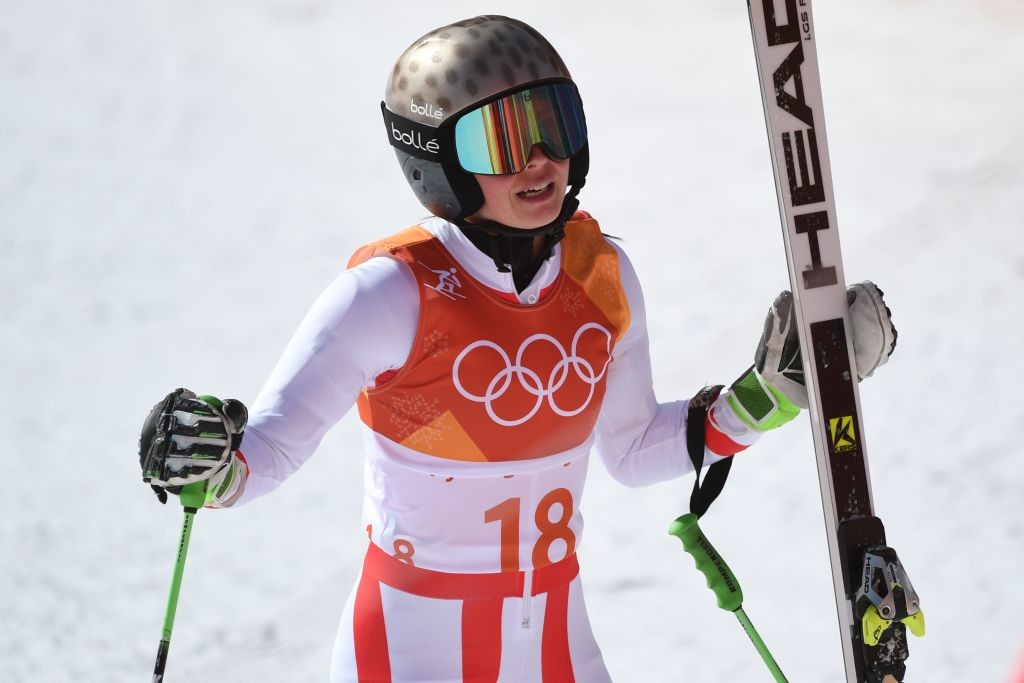 Miller had made the comments after Veith's slalom run.