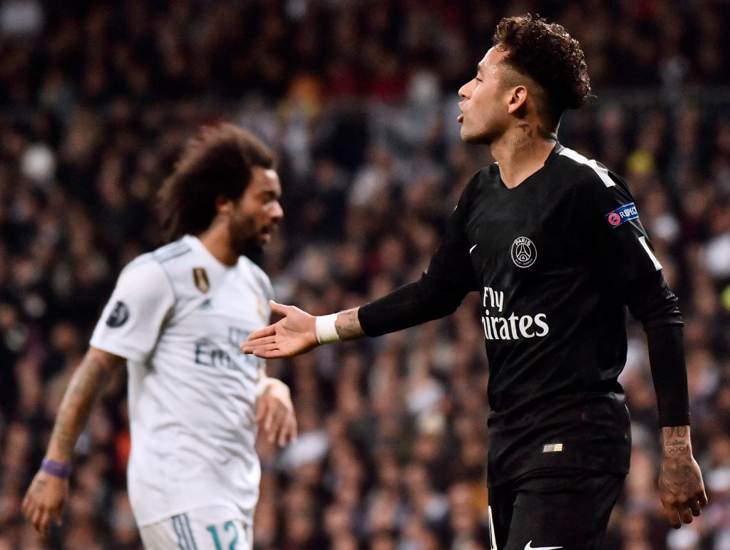 Rumours linking Neymar with a Madrid move have not helped Emery.