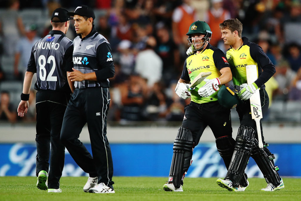 The Aussies had pulled off the highest ever T20I chase last time at the venue.