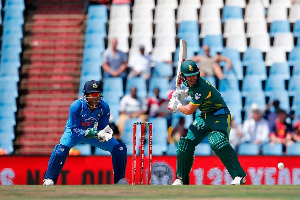 de Villiers had suffered the injury in the fifth ODI.