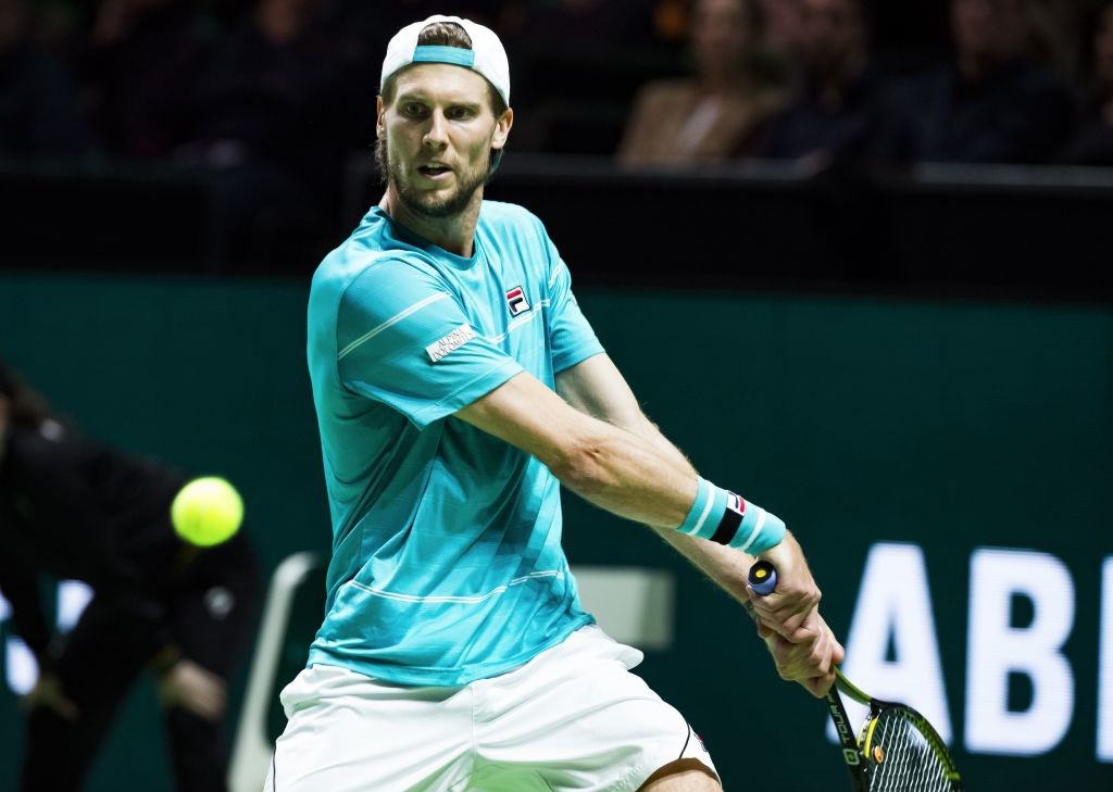 Seppi's memorable week in Rotterdam came to an end.