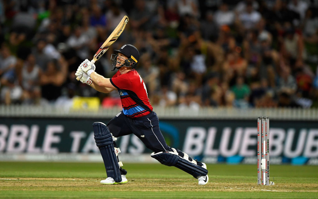 The England skipper led from the front with the bat.