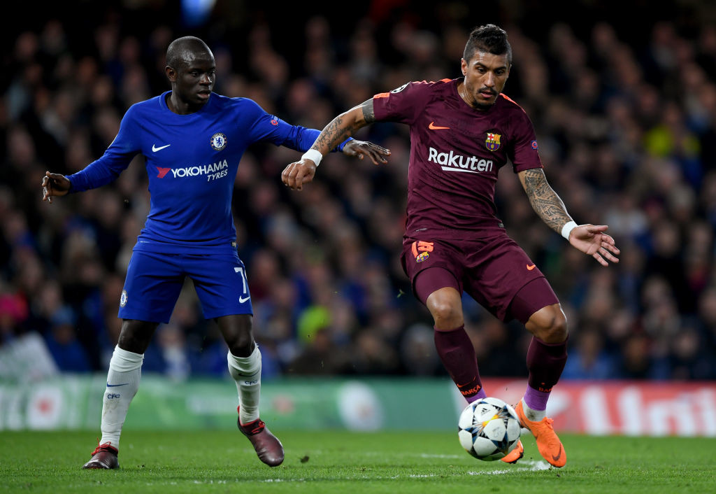 Paulinho struggled against Chelsea in midweek