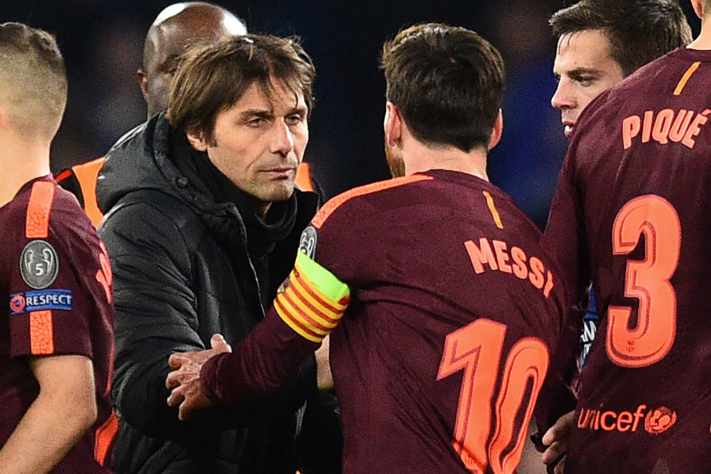 Antonio Conte got it right but Messi uncontainable