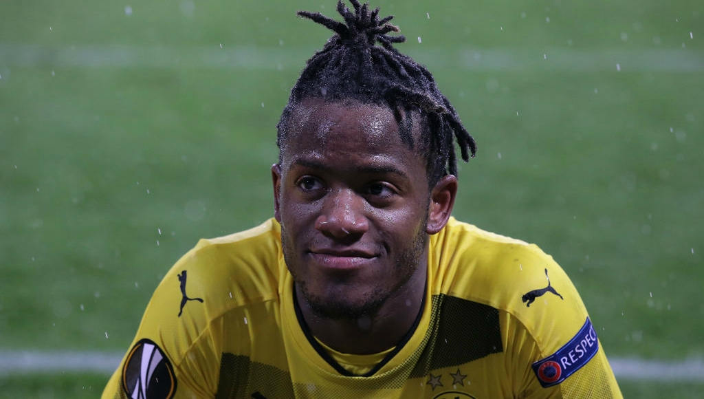 Dortmund's Batshuayi alleges racist abuse by Atalanta fans