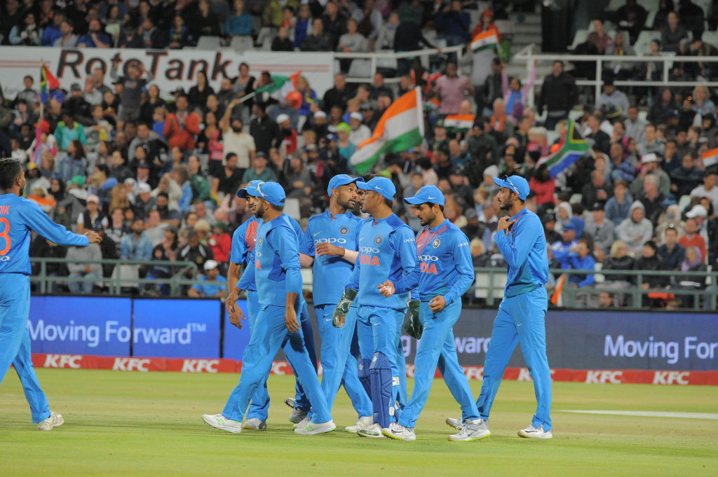 India were simply irresistible in the limited-overs clashes.