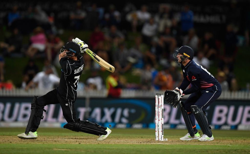 Santner turned the game on its head with a match-winning cameo.