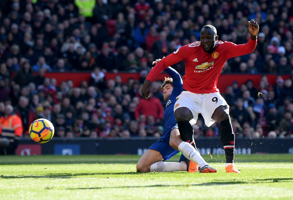 Lukaku had notched up United's equaliser against his former employers.