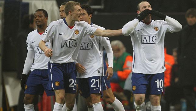 Double: Wayne Rooney