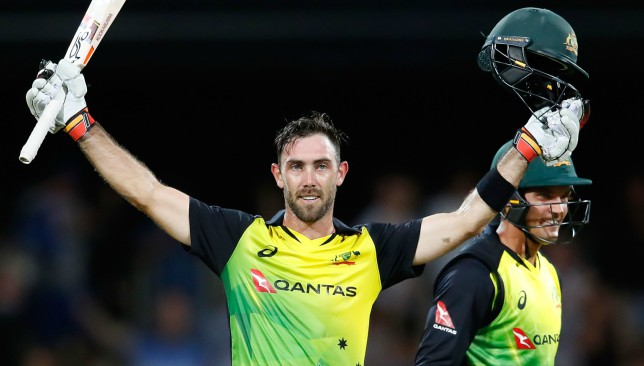 Glenn Maxwell was removed by Imran Haider on Monday