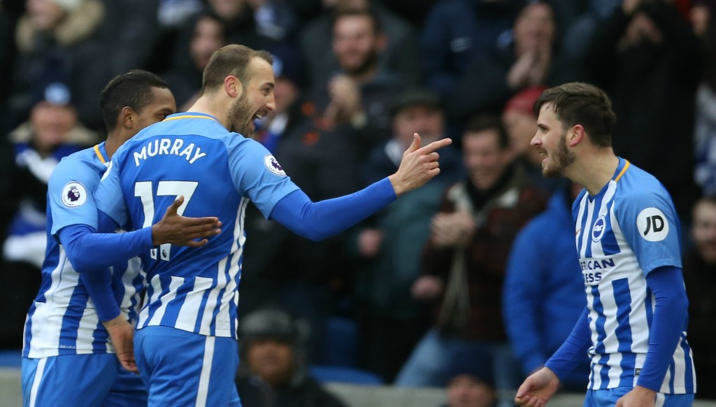 Glenn Murray's goals have kept the Seagulls flying