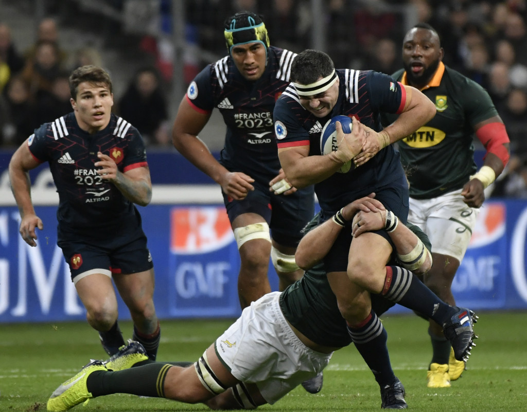 Townsend expects a physical onslaught from France