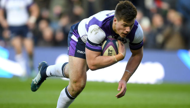 Huw Jones has been one of the leading lights for Scotland.