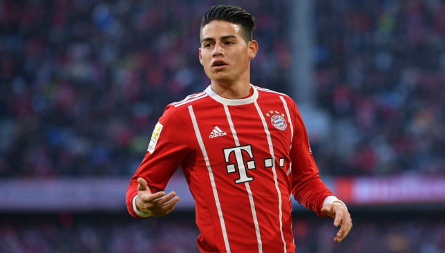 James Rodriguez has been in glittering form this term.