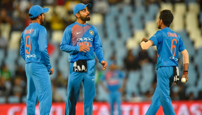 India score 188/4 against South Africa in second T20