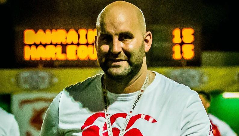 Bahrain coach Louie Tonkin.