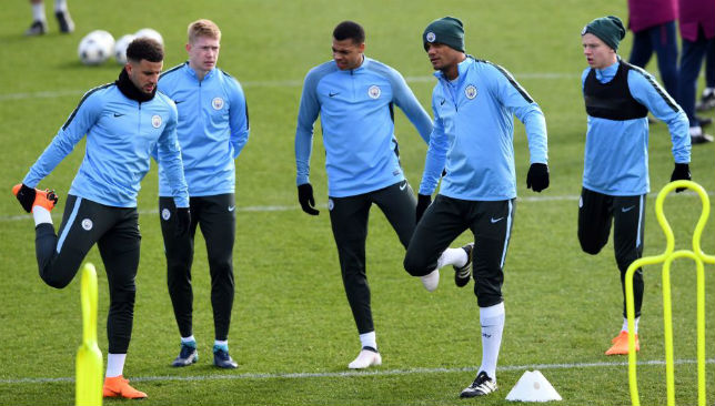 MAN CITY-TRAINING