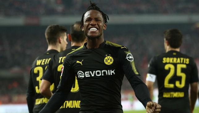 Michy Batshuayi spent the second half of last season on loan at Borussia Dortmund