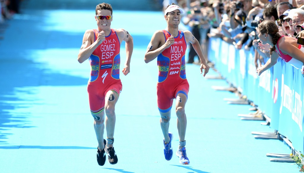 Mario Mola is chasing Javier Gomez' record of five WTS titles.