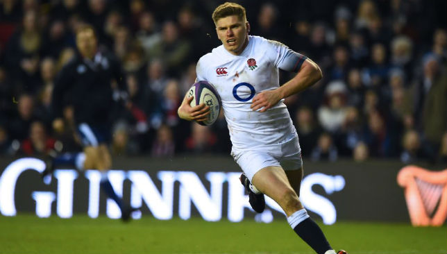 Owen Farrell says he takes inspiration from Tom Brady.