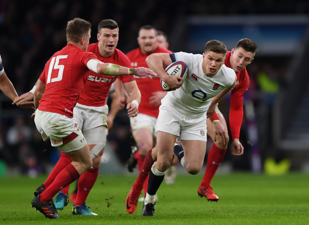 Owen Farrell was once again one of England's stand-out men v Wales.