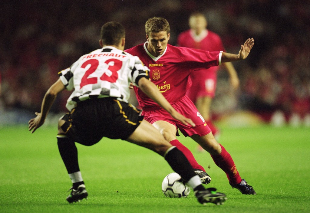 Michael Owen scored against Boavista in 2001