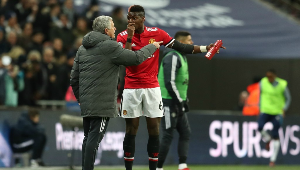 Jose Mourinho and Paul Pogba endured a fraught relationship last season.