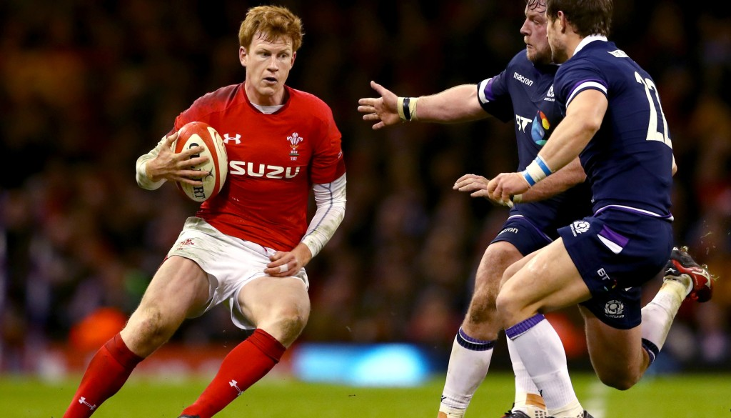 Rhys Patchell starred, despite being Wales' third-choice fly-half